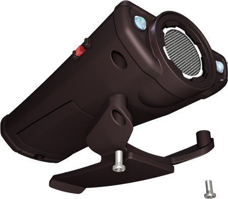 Инновационный ультразвуковой отпугиватель собак Собакам.нет Вспышка+: установка клипсы