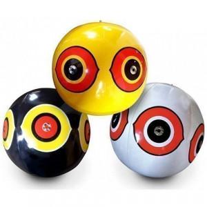Комплект виниловых 3D шаров с глазами хищника